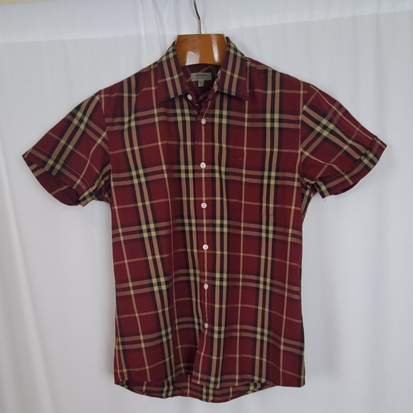 Burberry Other - Burberry London Men's Plaid Short Sleeve Shirt